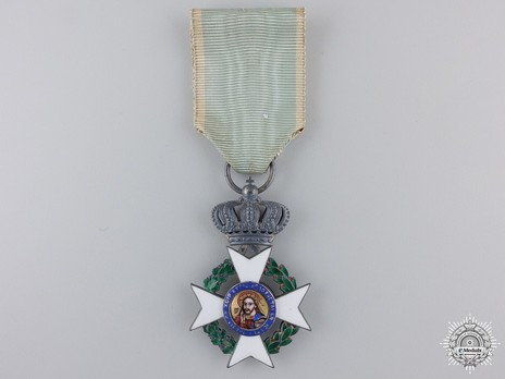 Order of the Redeemer, Type II, Knight's Cross, in Silver Obverse