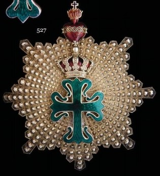 Commander Breast Star (with 8 rays) Obverse
