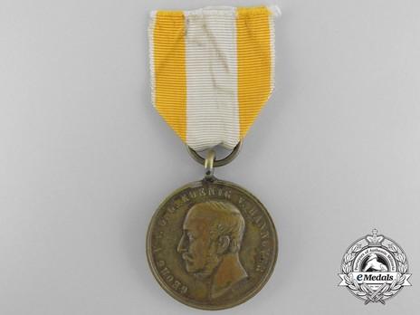 Langensalza Medal (in bronze) Obverse