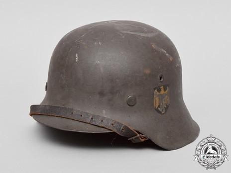 Kriegsmarine Steel Helmet M42 Profile