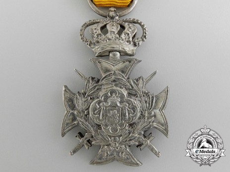 I Class Cross (for Non-Commissioned Officers and Soldiers, for 30 Years, 1882-) (by François Wunsch) Obverse