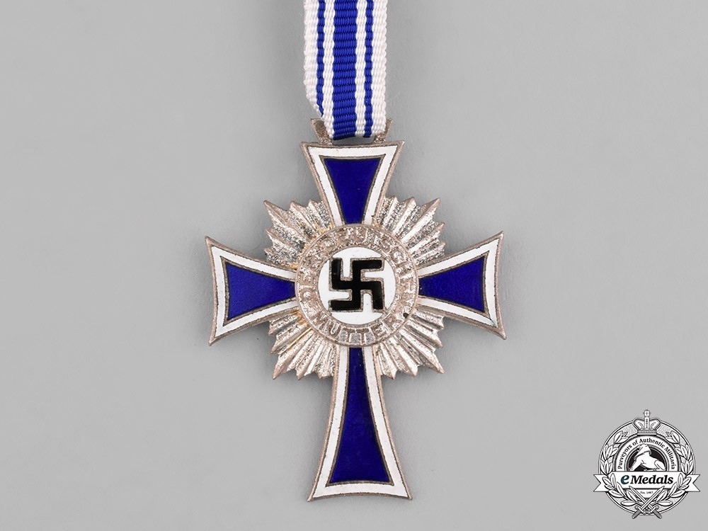 Cross+of+honour+of+the+german+mother%2c+in+silver+1