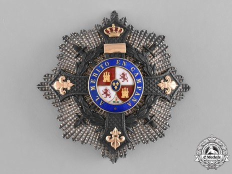II Class Cross Breast Star (1890-1918/1925-1931) Obverse