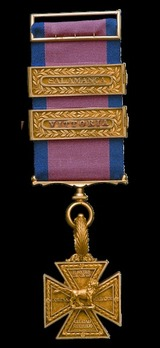 Army Gold Cross Obverse