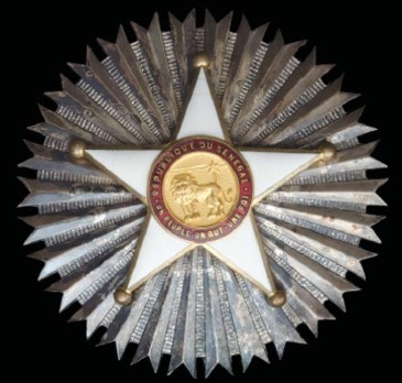 Order of the Lion, Grand Cross Breast Star