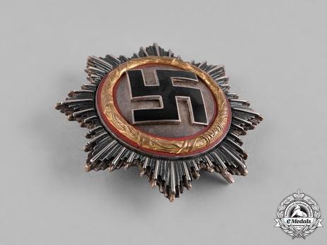 German Cross, in Gold, by C. E. Juncker (Model 1, 5 rivets) Obverse