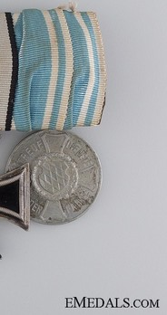 Reserve Infantry Long Service Decorations, II Class Medal Obverse