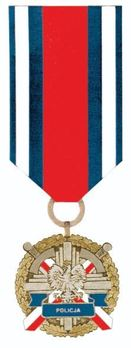 Medal for Police Merit, I Class Obverse