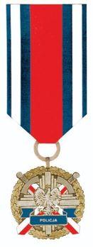 Medal for Police Merit, I Class Obverse