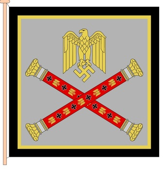 German Army Field Marshal's Flag Obverse