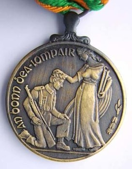 Good Conduct Medal in Bronze Obverse