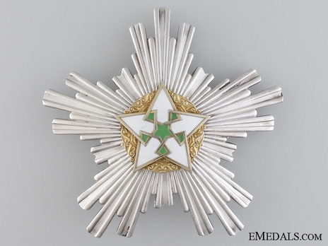Order of Civil Merit (Wisam al-Satahaqaq al-Sun), Excellent Class Breast Star Obverse