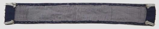 Luftwaffe Jagdgeschwader 1917/18 Cuff Title (NCO/EM version) Reverse