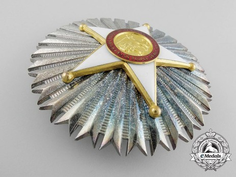 National Order of Merit, Grand Officer Breast Star Obverse