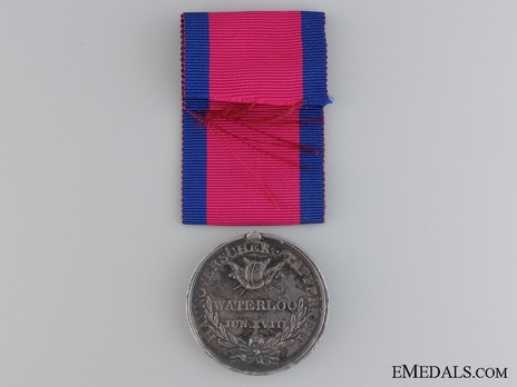 Waterloo Medal Reverse