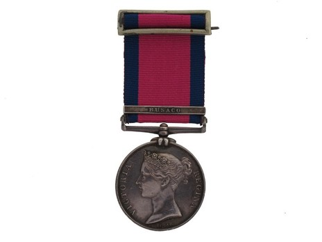 """Silver Medal (with """"BUSACO"""" clasp) Obverse"""