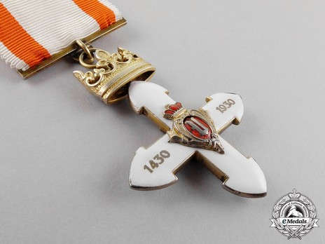 Order of Vytautas the Great, Officer's Cross Reverse