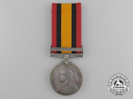 """Silver Medal (with date removed, with """"NATAL"""" clasp) Obverse"""