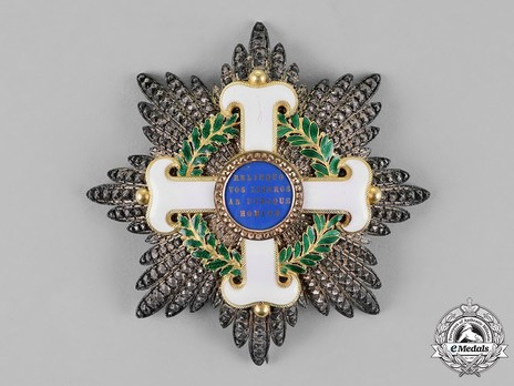 Order of San Marino, Type I, Military Division, Grand Cross Breast Star