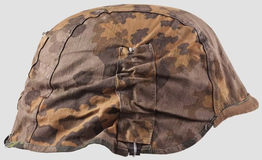 Waffen-SS Camouflage Helmet Cover (1st pattern) Right