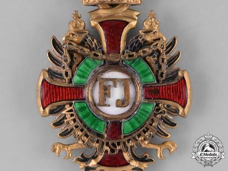 Order of Franz Joseph, Type II, Military Division, Commander (lower grade)