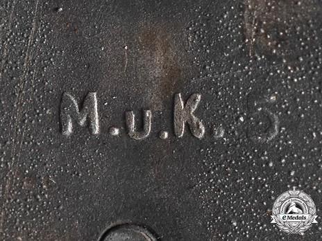 Ground Assault Badge, by A.G.M.u.K. Detail