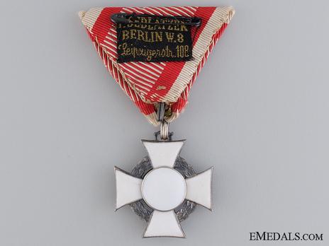 Type II, Military Division, III Class Cross Reverse
