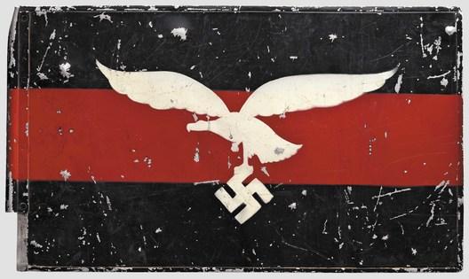 Luftwaffe Regiment Control Flag (Flakregiment version; Aluminum) Obverse