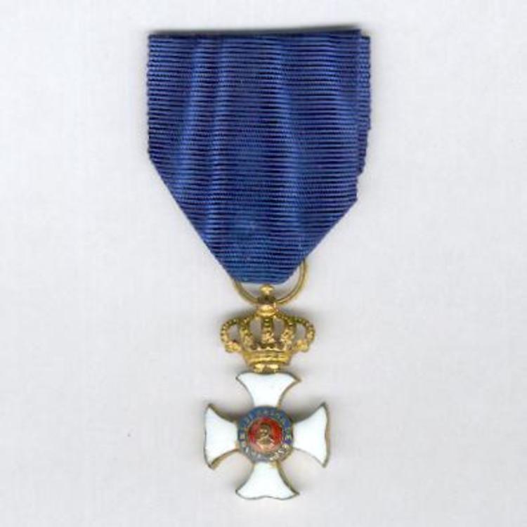 Gilt cross 1839 1868 obv s