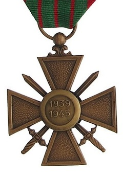 Bronze Cross (1939 1945) Reverse