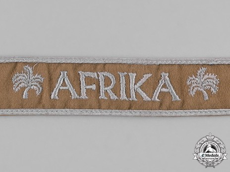 Afrika Cuff Title Obverse