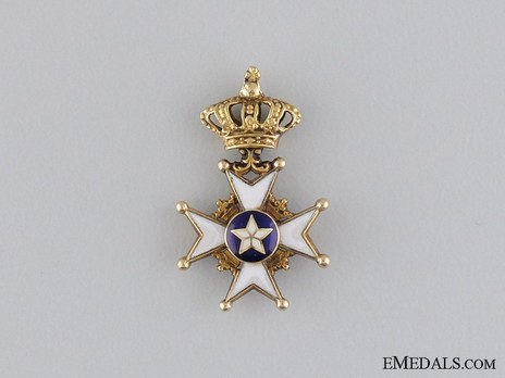 Miniature I Class Knight (with gold) Reverse