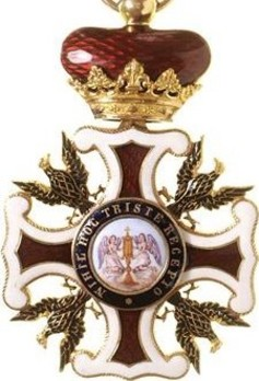 Order of the Redeemer, Commander Obverse
