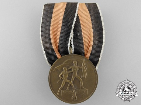 Commemorative Medal of 1st October 1938 (Sudetenland Medal) Obverse