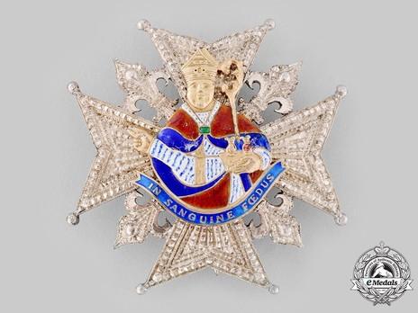 Order of Saint Januarius, Knight's Breast Star Obverse