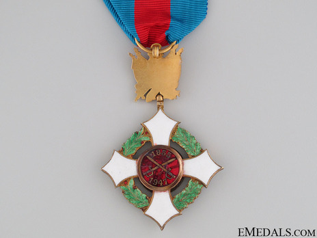 Military Order of Italy, Officer's Cross Reverse