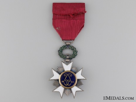 Knight (with swords clasp) Reverse
