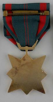 Civil Actions I Class StarI Class Star Medal Reverse