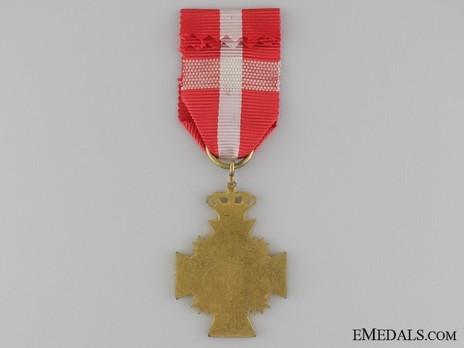 Cross (King Frederik VIII for 16 years) Reverse