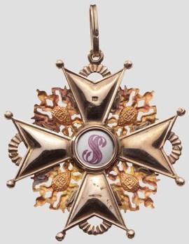 Order of Saint Stanislaus I Class Badge Obverse