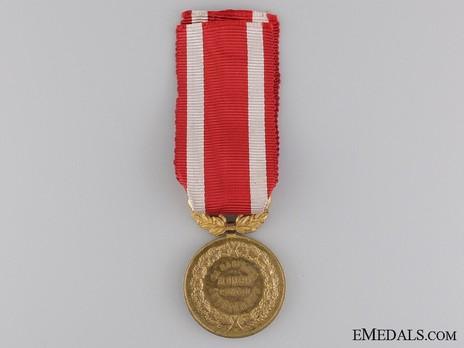 Medal of Merit for Education, I Class Reverse