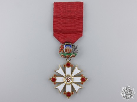 Military Order of Viesturs, V Class, Civil Division Obverse