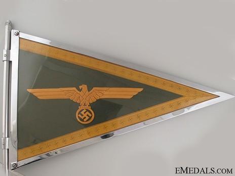 German Army General's Pennant Obverse Detail