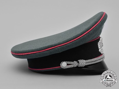 German Army Armoured Officer's Visor Cap Right Side