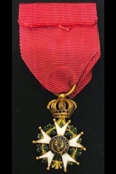 Order of the Legion of Honour, Type II, Officer Reverse