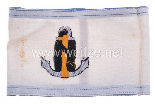 Kriegsmarine Ship Damage Service Armband Reverse