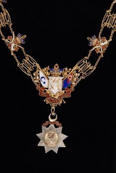 Royal Family Order of Johor, Grand Commander Collar