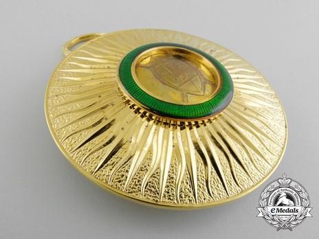 Order of the Golden Heart of Kenya, II Class Elder Badge Obverse