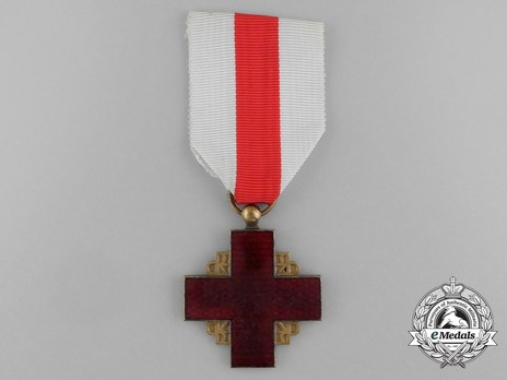 Red Cross Medal, Gold Medal Obverse