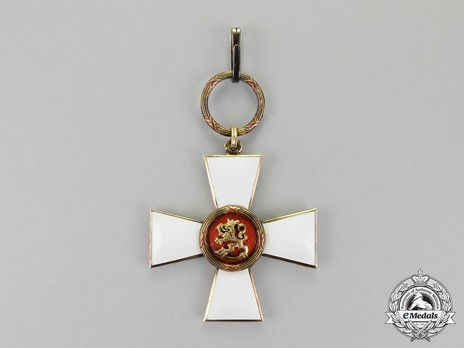 Order of the Lion of Finland, Civil Division, Commander Grand Cross Obverse